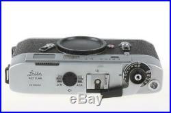 LEICA M5 Chrome 10501 Sucherkamera SNr 1346226