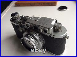 LEICA Model IIIa 1/1000 35mm rangefinder camera by LEITZ Wetzlar, from 1936