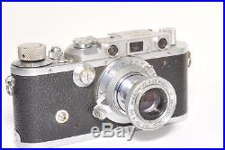 LEICA Model IIIa 35mm rangefinder camera by LEITZ Wetzlar, from 1937