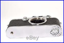 LEICA Model IIIf 35mm rangefinder camera body by LEITZ Wetzlar, from 1951