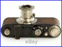 LEICA Standard Black Nickel -1936 Serial No. 212426 with Leitz Elmar f=5cm 13,5