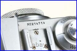 LEICA Standard mit Elmar 50mm f/3,5 SNr 214714
