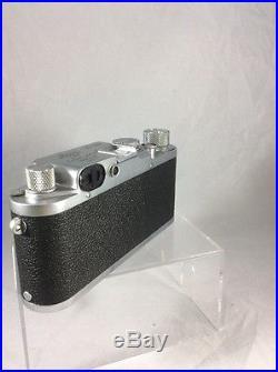 LEITZ LICA Model IIIc Serial 416683 WITH 50mm Summitar F2/50mm Lens