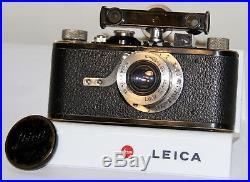 Leica 1929 1 Model A 35mm Near Focus Camera with50mm f/3.5 Elmar & FOKOS RF