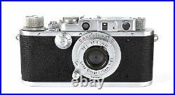 Leica 72 Midland Half frame 18x24 Leica Camera #357365 with Elmar Lens RARE