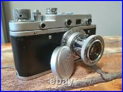 Leica BERLIN olympic Leitz Elmar lens (copy zorki c) ideal condition