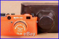 Leica Camera Olympiad Berlin 1936 Rangefinder 35 mm. Exclusive Model (Fed copy)