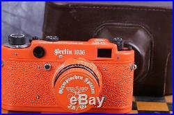 Leica Camera Olympiad Berlin 1936 Rangefinder 35 mm. Vintage (Fed copy)