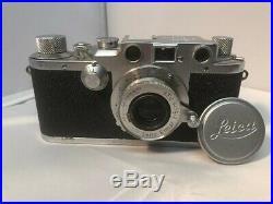 Leica DRP Ernst Leitz Wetzlar ser#495309 With Rangefinder and 3.5 Addl Lens