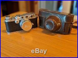 Leica DRP Rangefinder Ernst Leitz Wetzlar Camera & Summitar Lens #209100