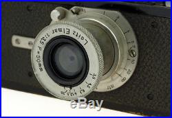 Leica I #4184 with Elmar 3.5/50 mm