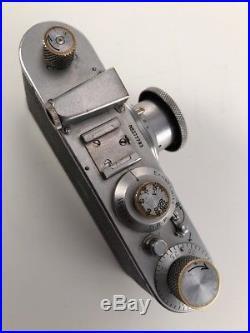 Leica I Standard Model A 1938 Sn. 277783 Chrome Rangefinder Leitz 5cm 3.5 In mtr