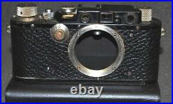 Leica I standard black Ernst Leitz Wetzlar DRP Camera #149896 ll