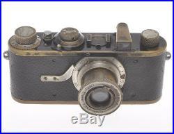 Leica IA I A fixed lens 24429 with Leitz 50/3.5 Elmar c. 1930, exc+