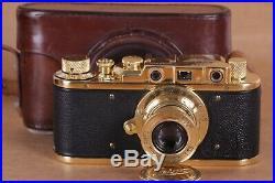 Leica II Camera Berlin Olympiad lens Leitz Elmar Exclusive (Fed Zorki copy)