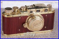 Leica II D D. R. P. Camera Ernst Leitz Wetzlar Exclusive Vintage (zorki copy)
