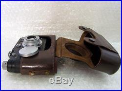 Leica-II(D) Das Reich WWII Vintage Russian RF Film 35mm Photo Camera Excellent