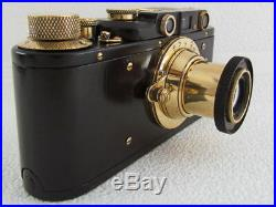 Leica II(D) Kriegsmarine WWII Vintage Russian BLACK 35mm RF Camera EXCELLENT