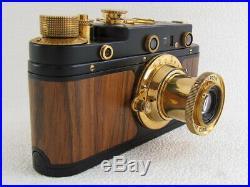 Leica II(D) Kriegsmarine WWII Vintage Russian Rangefinder 35mm Camera EXCELLENT