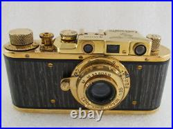 Leica II(D) Luftwafe WW II Vintage Russian 35mm GOLD Camera EXCELLENT Condition