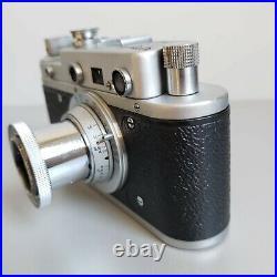 Leica-II (D) Luftwaffe camera vintage with Leitz Elmar 3.5/50 (FED Copy)