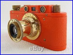 Leica II(D) Olympiada Berlin 1936 WWII Vintage Russian RF 35MM Camera EXCELLENT
