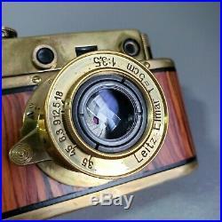 Leica-II (D) Olympiada Berlin 1936 vintage camera Leitz Elmar 3.5/50 (FED Copy)