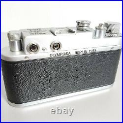 Leica-II (D) camera Olympiada Berlin 1936 vintage Leitz Elmar 3.5/50 (FED Copy)
