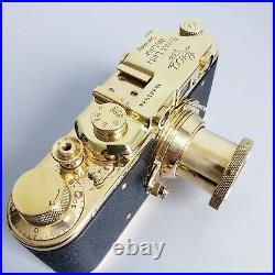 Leica-II (D) camera vintage with Ernst Leitz Elmar 3.5/50 (FED Copy)