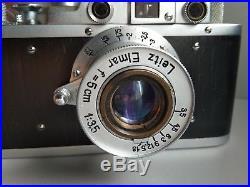 Leica-II (D) camera vintage with Leitz Elmar 3.5/50 (FED Copy) 183120