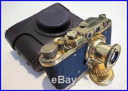Leica-II (D) camera vintage with Leitz Elmar 3.5/50 (FED Copy) 183652
