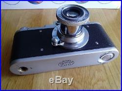 Leica-II (D) camera vintage with Leitz Elmar 3.5/50 (FED Copy) 183703