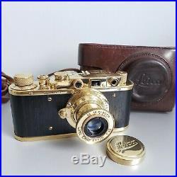 Leica-II (D) vintage camera Ernst Leitz Elmar 3.5/50 (FED Copy) 183102