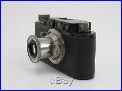 Leica II No. 76519 schwarz black um 1932 + Nickel-Elmar 3,5/50mm #97488 sm091