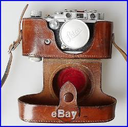 Leica III 1939 327267 Summitar 50 2.0 Spezialumbau Synchro + Drahtauslöser