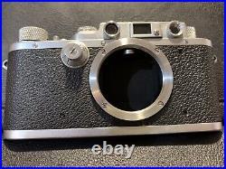 Leica III 1939 Rangefinder With Elmar 50 3.5 Lens