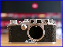 Leica III 1940 Luftwaffen Eigentum Wehrmacht No. 361954 FL. No. 38079