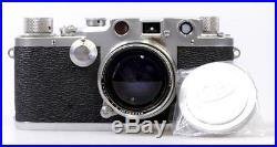Leica III C No. 476805 mir Summitar 5cm 50mm 12