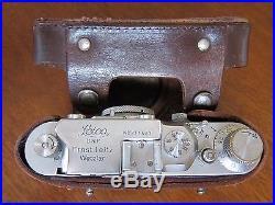 Leica III Camera with Elmar 50mm Lens Vintage 1939
