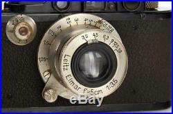 Leica III Mod. F black/nickel // 31612,84