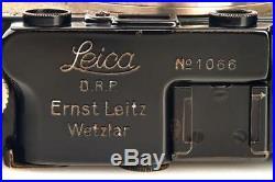 Leica III Mod. F black/nickel + Elmax 3.5/50mm // 30722,2
