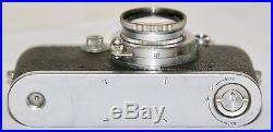 Leica III Rangefinder Camera With 5cm f/2 Summar Lens Made in 1937 Germany