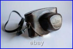 Leica III f 35mm rangefinder with 5 cm (50mm) f1.5 Summitar lens
