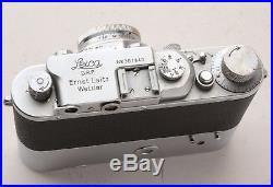 Leica IIIB with summar lens & 2-speed MOOLY motor