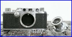 Leica IIIC No. 470055 M39 III C DRP Ernst Leitz Wetzlar mit Elmar 5cm F3.5 1949