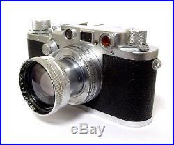 Leica IIIC Rangefinder + Summitar F/2 50mm Lens C1947