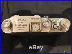 Leica IIIC Vintage 35mm Rangefinder Camera