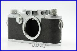 Leica IIIF Rangefinder Film Camera LTM M39 Body Black Dial #736