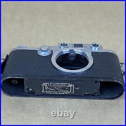 Leica IIIF Red Dial 35mm Rangefinder Film Camera #637658 BODY ONLY VINTAGE