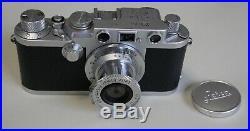 Leica IIIF Red Dial Camera with Leitz/Elmar 50mm f3.5 lens. Just Overhauled